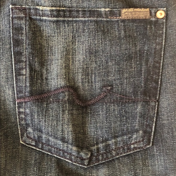 7 For All Mankind Other - 7 For All Mankind Mens Standard Jeans Size 34 X 35